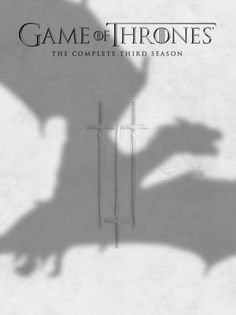 Game of Thrones: The Complete Third Season (2014) ($24.99) http://www.amazon.com/exec/obidos/ASIN/B00C8CQRQ4/hpb2-20/ASIN/B00C8CQRQ4 The acting well done, the story line is wonderful and captivating! - One of the best shows on tv. - This set consists of 7 (seven) discs - 5 Blu-ray and 2 conventional DVD.