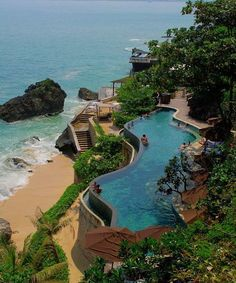 Amazing Lower Pool at Ayana Resort and Spa, Bali - Indonesia
