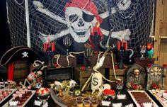 Piraten Mottoparty: Deko Ideen für den Kindergeburtstag