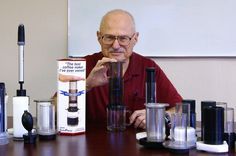 Alan Adler Presses On: Inventor Retains Aeropress Company, Adding Products Coffee Origin, Coffee Review, Best Coffee Maker, The Inventors, Ads, Photography, Travel, Products, Fotografie