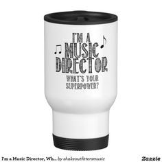 I'm a Music Director, What's Your Superpower