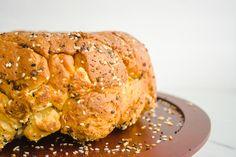 Everything Bagel Pull Apart Bread Breakfast Bake, Sweet Breakfast, Seasoning Mixes, Chicken Seasoning, How To Make Cheese, How To Make Bread, Bubble Bread, Brunch Table, Pull Apart Bread
