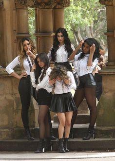 Fifth Harmony photoshoot in Sydney Australia