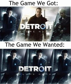 Detroit: Become human Except i kinda enjoyed Markus too but yea he can& hold a candle to our boy. Detroit Meme, Comic Collage, Playstation, Bryan Dechart, Quantic Dream, Detroit Become Human Connor, Naruto E Boruto, Becoming Human, I Like Dogs