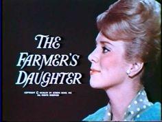 The Farmer's Daughter. 1963 - 66. Inger Stevens, William Windom, Cathleen Nesbitt, Mickey Sholdar.