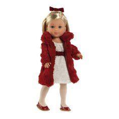 Muñeca de paseo Miyo Lovely Little Darlings, Fur Coat, Dolls, Jackets, Fashion, Spain, Toy Store, Walks, Clothing