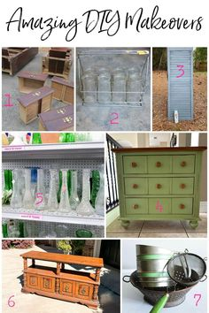 Looking for inspiration for your next thrift store makeover or upcycling project? This is a fantastic collection of project ideas for any level of crafter. Time to get your upcycling on with these thrifty DIY projects! Thrift Store Outfits, Thrift Store Crafts, Thrift Stores, Bookcase Makeover, Furniture Makeover, Dresser Makeovers, Old Bookcase, Bookcases, Thrift Store Furniture