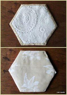 blanc beequilt et vieilles dentelles - chemise