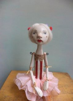 Marlen Art Doll by Petuqui on Etsy petuqui.blogspot.com