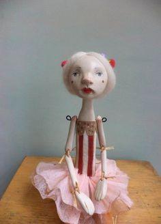 Marlen Art Doll by Petuqui on Etsy petuqui.blogspot.com
