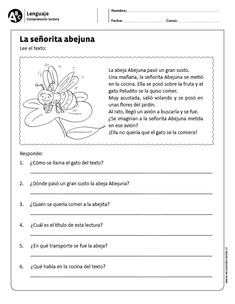 Lenguaje ›› Comprensión lectora ›› y básico Spanish Lesson Plans, Spanish Lessons, Spanish Notes, Spanish Language Learning, Teaching Spanish, Speech Language Therapy, Speech And Language, Sign Language, Learn Spanish Free