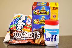 """Easy """"Less Mess"""" Walking S'mores . This sounds AHHHMAAAZZZING!!"""