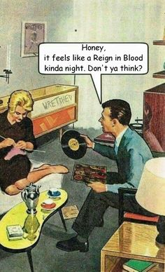 Feels like a Reign in Blood kind of night
