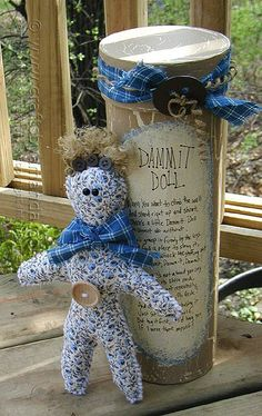 This little country dammit doll is a great comfort gift for someone you care about, or an adorable addition to any room in your home. You may remember dammit dolls from your grandmother's time period and they are still around today. Several years ago, I made this for a friend who was living in Germany. Her husband was in the   Read More »