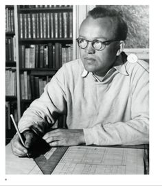 Finn Juhl (1912-1989). Educated from the Royal Academy of Fine Arts, Copenhagen. Began designing furniture in the late 1930's. Is known for his unusual expressive and sculptural designs. Collaborated with cabinetmaker Niels Vodder. Designed the interior of the Trusteeship Council Chamber at the UN headquarters in New York. An overwhelming task for a rather inexperienced young architect, but the good results paved the way for the notion of Danish Modern internationally.