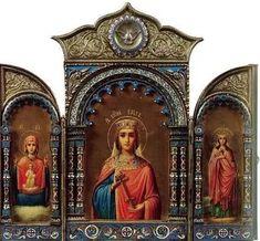 Olga of Kiev - Wikipedia Olga Of Kiev, Russia Ukraine, Russian Icons, Orthodox Christianity, Triptych, Christian Art, Sacred Heart, Mystic, Taj Mahal