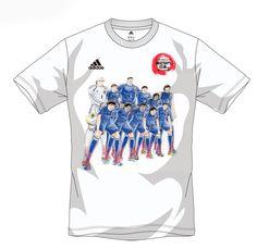 キャプテン翼 円陣 Tシャツ 2