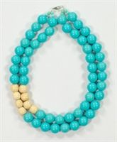 Beads & Wood Necklace