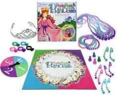 Princess Games, Princess Dress Up, Little Princess, Pink Princess, Princess Party, Fun Board Games, Fun Games, Classic Board Games, Pretty Pretty Princess Game