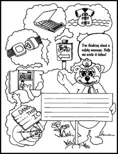 Fire Safety Coloring Page Affordable Safety Coloring Pages For