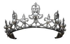 Tiara of Countess Spencer ca. 1890.