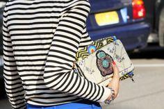 stripes & clutches