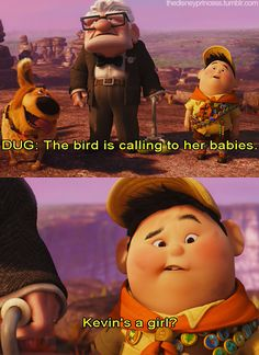 Kevin's a girl?? --- ahahaha that was my favorite line!!