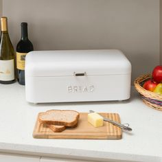 Modern Bread Boxes, How To Store Bread, Bread Bin, Real Kitchen, Inside The Box, Home Board, You Are The Father, Butter Dish, Wooden Boxes
