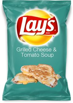 Grilled Cheese & Tomato Soup- the newest Lays chip flavor!