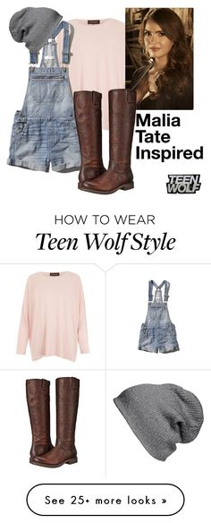 """Malia Tate"" by caraxxjane on Polyvore featuring Eskandar, Abercrombie & Fitch, BP., Frye, Boots, TeenWolf and Malia"