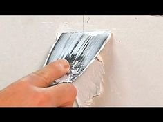 How to Repair Cracks in Drywall Due to Expanding Joints : Drywall Repair & Maintenance - YouTube