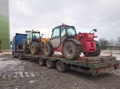 construction equipment transportation, heavy transport