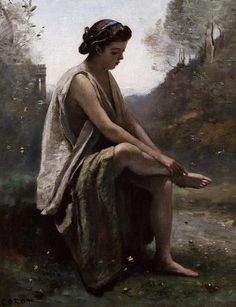 Camille Corot, The Wounded