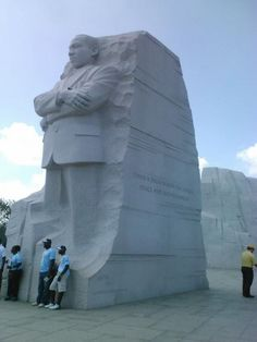 The Martin Luther King, Jr. Memorial is located in West Potomac Park in Washington, D.C., southwest of the National Mall. The national memorial is America's 395th unit in the national park service. The monumental memorial is located at the northwest corner of the Tidal Basin near the Franklin Delano Roosevelt Memorial.  The official address of the monument, 1964 Independence Avenue, S.W., commemorates the year the Civil Rights Act of 1964 became law.