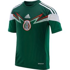 6bd423733 adidas Youth Mexico 2014 World Cup Home Replica Soccer Jersey Football  Kits