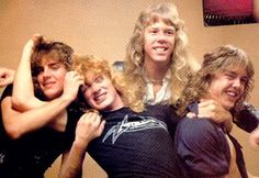 Metallica 1982 (with Dave Mustaine)
