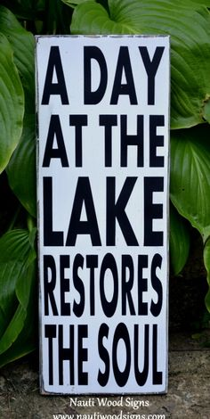 32 Best Lake Happiness Quotes Images Lake Decor Lake Signs Cabin