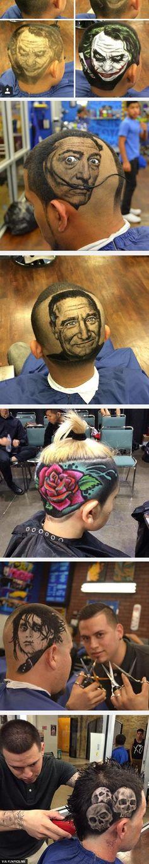 nice Hair Stylist Turns Hair Into Art