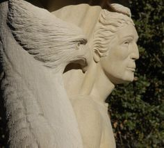 """Eagle, on Man Pillar, whispers his encouragement and wisdom from """"on-high""""."""