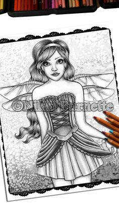 20 Best Grayscale Coloring Pages