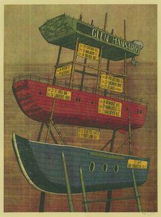 Glen Hansard concert poster by Landland Glen Hansard, Concert Posters, Music Posters, Music Artwork, New Poster, Silk Screen Printing, Graphic Illustration, Illustrations, Seattle