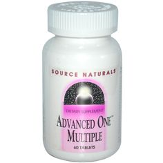 Source Naturals, Advanced One Multiple, 60 Tablets - iHerb.com