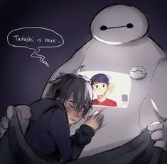 I'm right here Hiro. I'll always be with you.