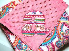 Minkee blanket @Kristin Brickey you can make this...