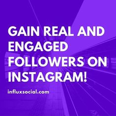 There are 350 million Instagram accounts. How do people even know your account exists? Influx makes people aware of your account by engaging with active, targeted people. You decide who to engage with and where to get followers from, Influx does the rest for you.  #instagram #growyouraccount #getrealfollowers #followers #influxsocial #realresults #engagement #audience