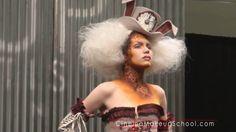 Halloween Make Up, Halloween Costumes, White Rabbit Alice In Wonderland, Samhain, Cool Hairstyles, Hair Makeup, Wonder Woman, Superhero, Voodoo