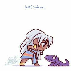 - Chibi of David Gilson - Disney Disney Pixar, Disney Fan Art, Disney Animation, Kida Disney, Disney And Dreamworks, Disney Girls, Disney Cartoons, Disney Magic, Disney Movies