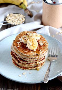 and EASY Oatmeal-Banana Pancakes Easy and perfect for brunch! Try these Oatmeal-Banana Pancakes 🍌 Easy and perfect for brunch! Try these Oatmeal-Banana Pancakes 🍌 Banana Oatmeal Pancakes, Banana Oats, Banana Pancakes, Almond Pancakes, Pancakes Easy, Banana Bread, Pancake Recipes, Healthy Recipes, Breakfast