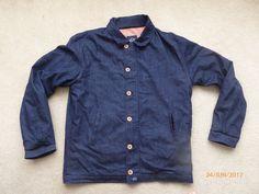 BLEU DE PANAME Denim Chore Bomber Jacket Lined    Abbigliamento e accessori, Uomo: abbigliamento, Cappotti e giacche   eBay!