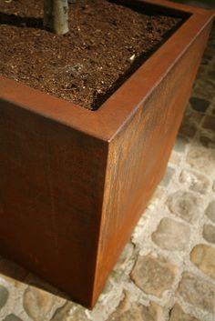 corten planters - Google Search